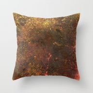 Middle Earth, Abstract N… Throw Pillow