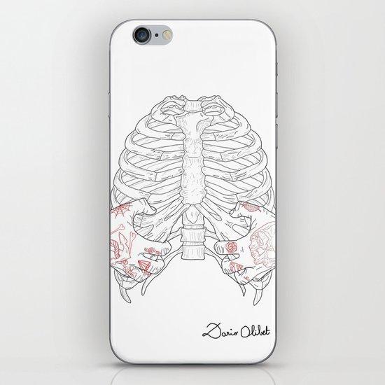 Human ribs cage iPhone & iPod Skin