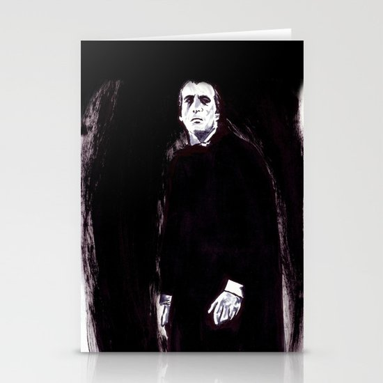 Count Dracula Stationery Card
