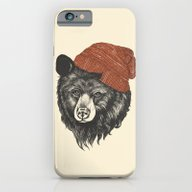 Zissou The Bear iPhone 6 Slim Case