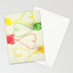 Heart Strings Stationery Cards
