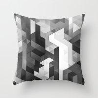 scope 2 (monochrome series) Throw Pillow