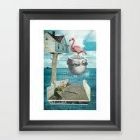 Magic Treehouse Framed Art Print