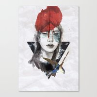 KILL ME Canvas Print