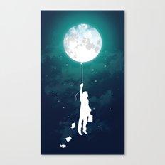 Burn the midnight oil  Canvas Print