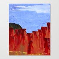 High Desert Canyons Canvas Print