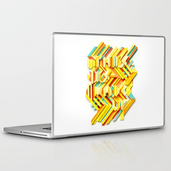 This Is Made Up #3 Laptop & iPad Skin