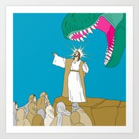 Jesus, Etc. Art Print