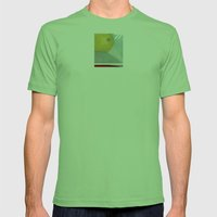 Distance 77 Mens Fitted Tee Grass SMALL