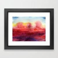 Where I End And You Begi… Framed Art Print