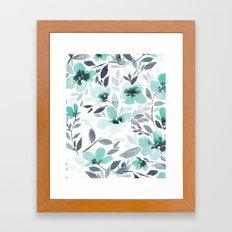 Espirit Mint  Framed Art Print