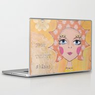 Your Talent Shines Throu… Laptop & iPad Skin