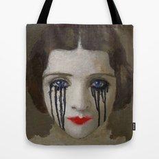 Crying woman Tote Bag