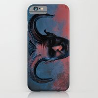 iPhone & iPod Case featuring Demon Sorrow by Art Edel
