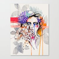 Fashion Kills Canvas Print
