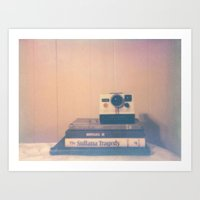 Polaroid Polaroid Art Print