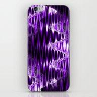 Warped Glass (lush Purpl… iPhone & iPod Skin