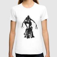 alien T-shirts featuring Alien by Michelle Woodward