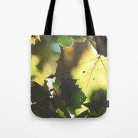 Fall Is In The Air II Tote Bag