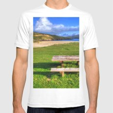 Horgabost, Isle Of Harris Mens Fitted Tee SMALL White