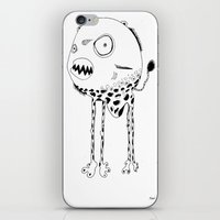 Piranâ with an attitude iPhone & iPod Skin