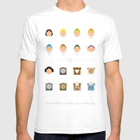 Famous Capsules - New Ca… Mens Fitted Tee White SMALL