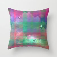 The Day The Sky Went Pla… Throw Pillow