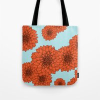 Flower Two Tote Bag