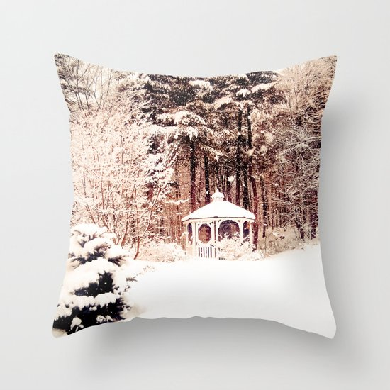 SnowEnchanted Throw Pillow