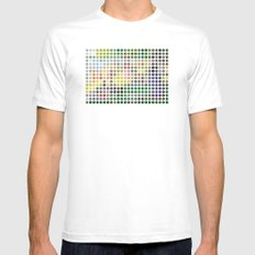Georges Seurat Remixed (2009) White Mens Fitted Tee SMALL