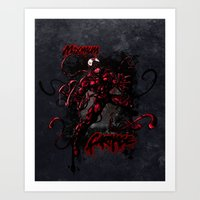 CARNAGE RULES  Art Print
