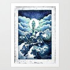 Even In The Darkest Nigh… Art Print