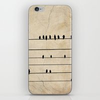 Gang Of Crows iPhone & iPod Skin