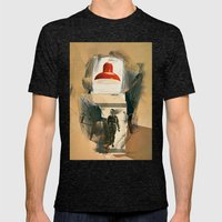 theory Mens Fitted Tee Tri-Black SMALL