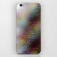 Pink Rain iPhone & iPod Skin