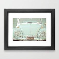 Mint Bug Framed Art Print
