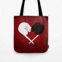 Lightside vs Darkside Tote Bag