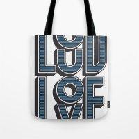 LOUD LOVE Tote Bag