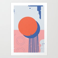 Rosetta (2) Art Print
