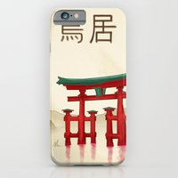 Torii Gate - Painting iPhone 6 Slim Case
