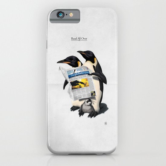 Read All Over iPhone & iPod Case
