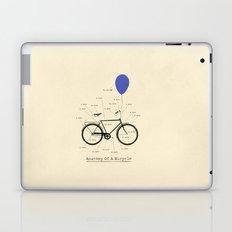 Anatomy Of A Bicycle Laptop & iPad Skin