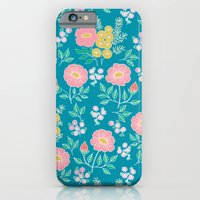 Hexagon floral 2 iPhone 6 Slim Case
