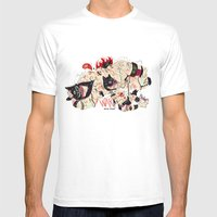 Wolfmother Mens Fitted Tee White SMALL