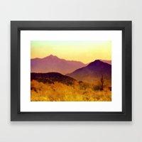 Painted Desert Framed Art Print