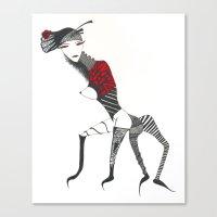 spider woman Canvas Print