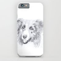 Border Collie Sketch iPhone 6 Slim Case