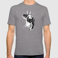 Stand Alone Mens Fitted Tee Tri-Grey SMALL
