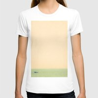 Sailing Womens Fitted Tee White SMALL