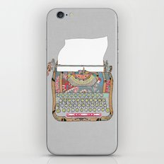 I DON'T KNOW WHAT TO WRITE YOU iPhone & iPod Skin